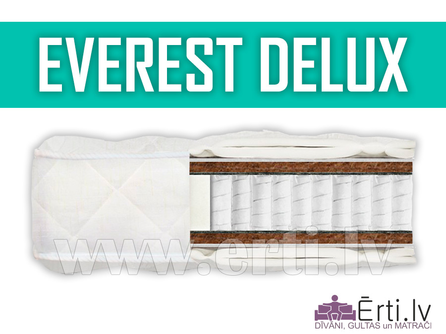 Everest DeLux – Ciets ortopēdisks matracis
