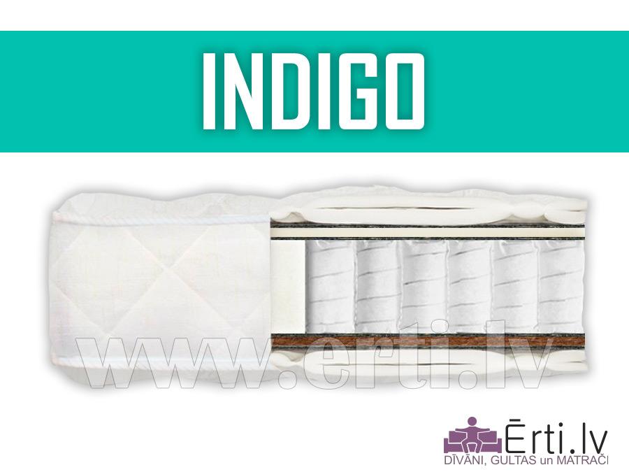 Indigo – Ortopēdisks pocket matracis ar kokosu
