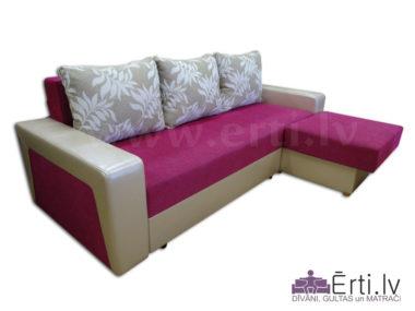 Simba ST – Stiligs izvelkamais stūra dīvāns-gulta
