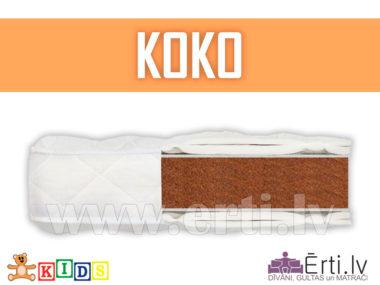 Koko – Гипоаллергенный детский матрас из кокосовой койры