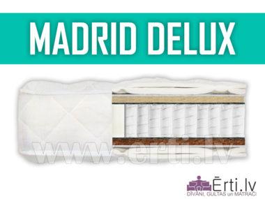 Madrid DeLux – Mūsdienīgs, labi ventilējams matracis