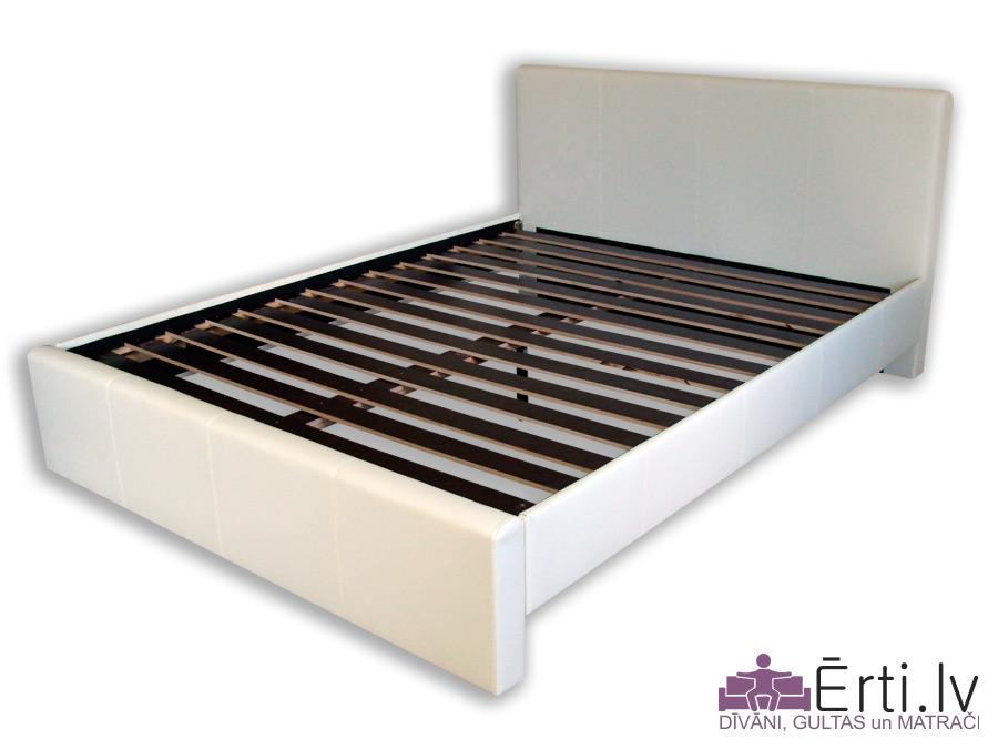 Melisa – Lēta mūsdienīga eko-ādas gulta
