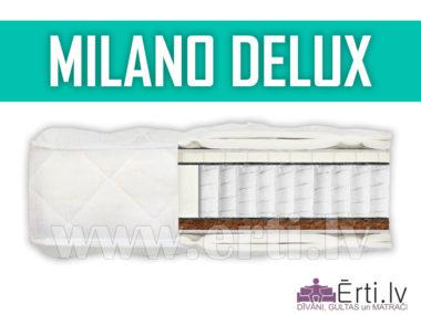 Milano DeLux – Качественный матрас с латексом и кокосовой койрой