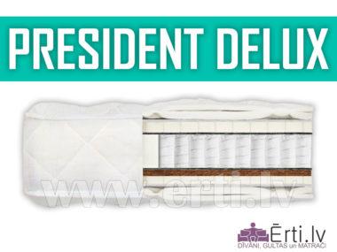 President DeLux – Mīksts matracis ar lateksu un kokosu