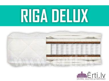 Riga DeLux – Элитный матрас с воздушным латексом и кокосовой койрой