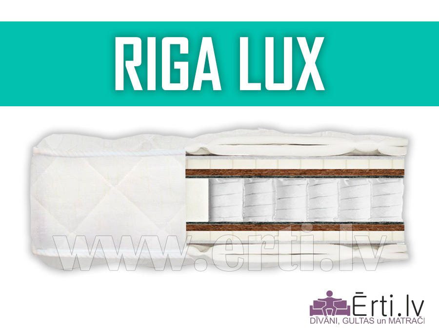 Riga Lux – Kvalitatīvs matracis ar lateksu