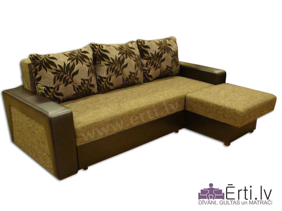 Simba ST – Современный угловой диван-кровать
