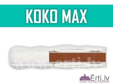 Koko Max – Stingrs nerullējams virsmatracis