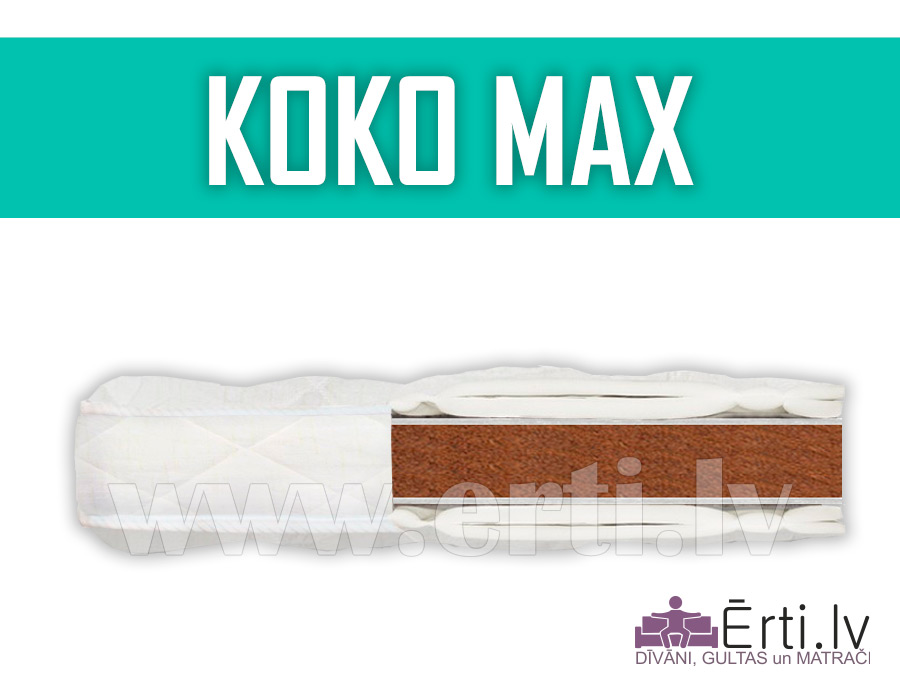 Koko Max – Жесткий, не скручиваемый наматрасник