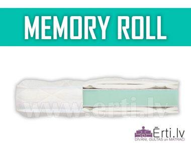 Memory Roll – наматрасник из 5см пены Memory Foam