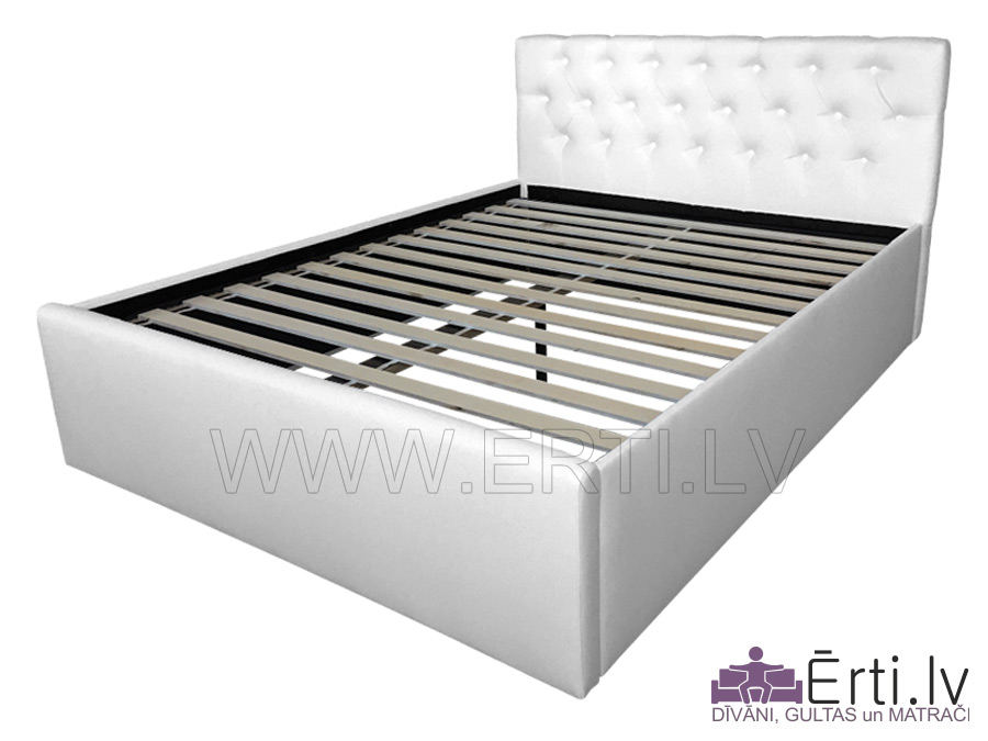 Chester – Современная кровать спуговицами