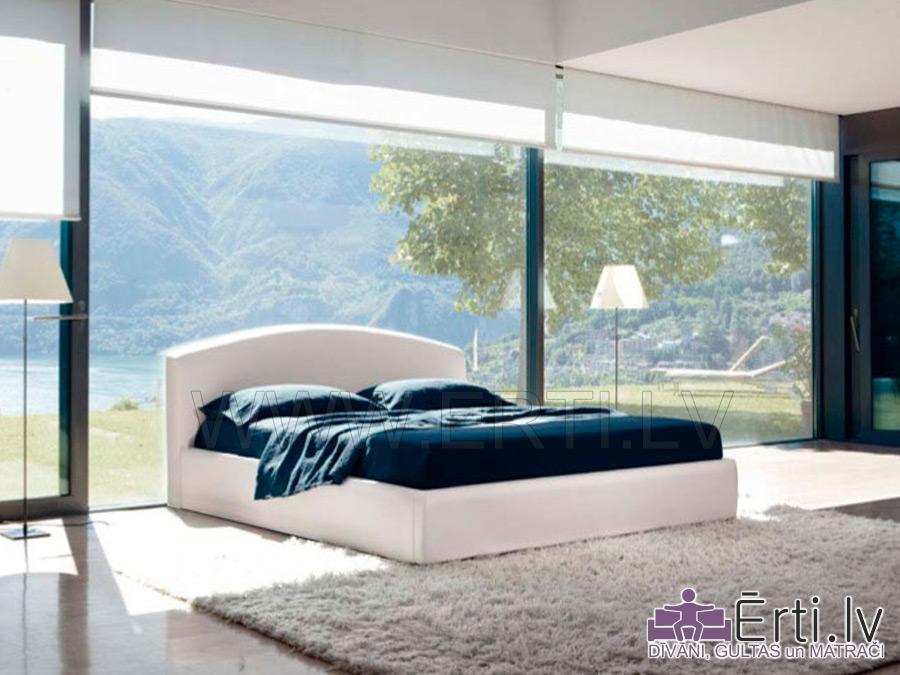 Klasika – Современная кровать с закругленным изголовьем