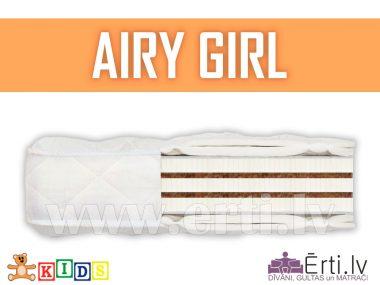 Airy Girl – Hipoalerģisks bērnu matracis ar kokosu