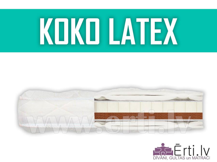 Koko Latex –  dažādām gaumēm divpusējs virsmatracis