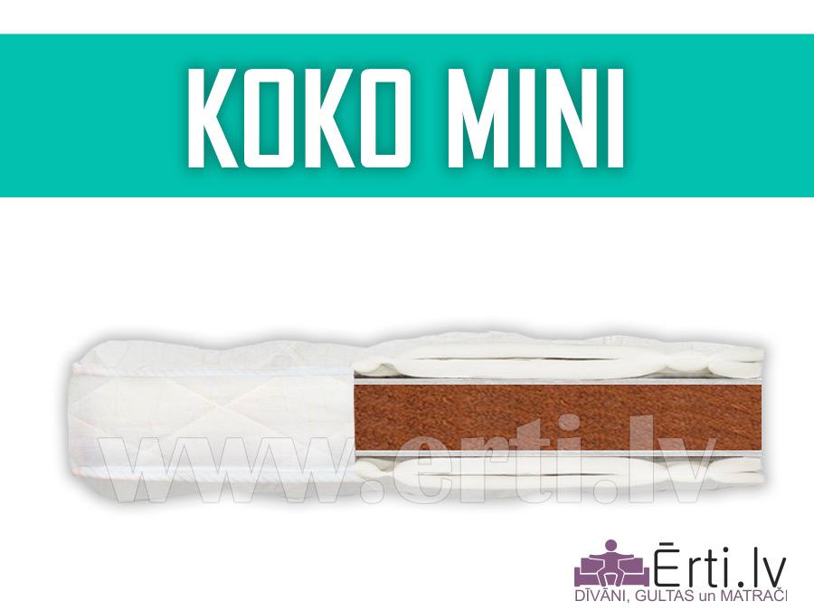 Koko Mini – Жесткий, не скручиваемый наматрасник