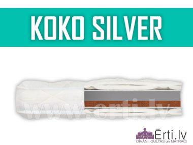 Koko Silver – dažādām gaumēm divpusējs virsmatracis