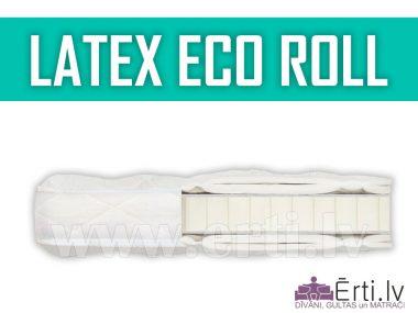 Latex Eco Roll – Mīksts, elpojošs virsmatracis
