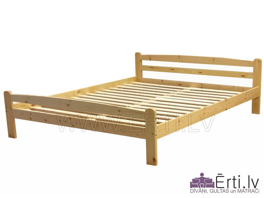 Koka gulta Laura – izturīga, klasiska un skaista – iederēsies jebkurā interjerā