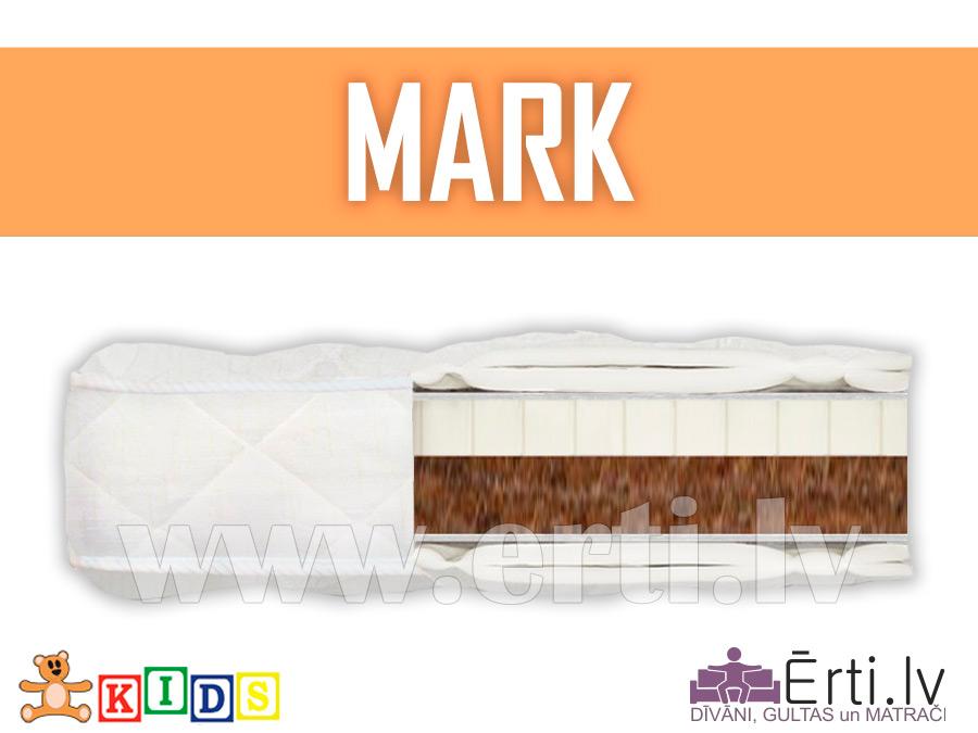 Mark – Dabīgs bērnu matracis ar kokosu un lateksu