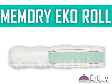 Memory Eco roll – наматрасник из пены Memory Foam