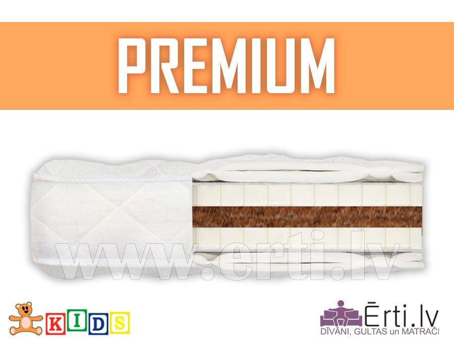 Premium – Dabīgs bērnu matracis ar kokosu un lateksu