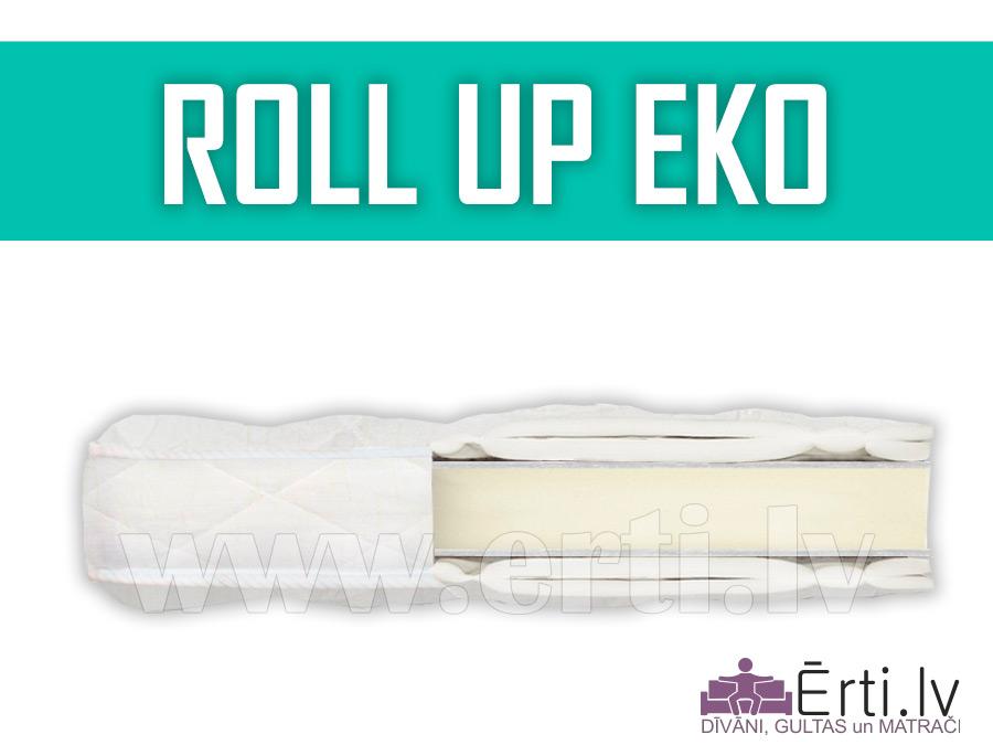 Roll up Eco – Vidēji mīksts virsmatracis