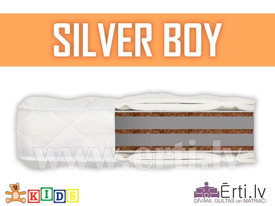 Silver Boy – Hipoalerģisks bērnu matracis ar kokosu