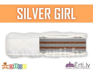 Silver Girl – Гипоаллергенный Детский Матрас С Кокосом