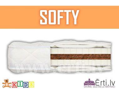 Softy – Натуральный, детский матрас с кокосовой койрой