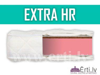 Extra HR – Ciets, divpusējs bezatsperu matracis