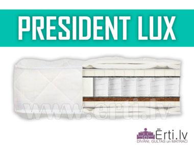 President Lux – Mīksts matracis ar lateksu un kokosu
