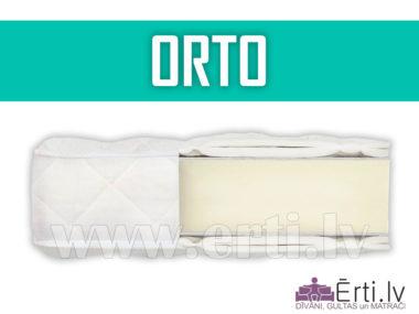 Orto – Lēts bezatsperu matracis ar ortopedisku efektu