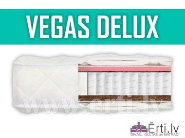 Vegas DeLux – Жесткий, ортопедический матрас разной жесткости