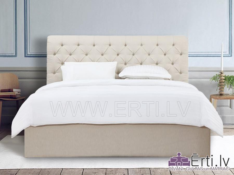 Кровать Borno – Кровать из ткани с бельевым ящиком
