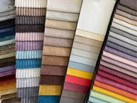 Кровать возможно заказать из любой ткани на выбор, разных цветов и оттенков