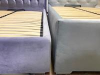 Кровать доступна в 2 видах исполнения, с разными по высоте бельевыми ящиками
