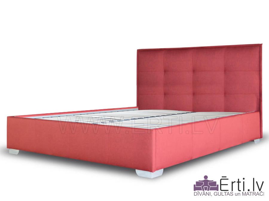 Gulta KVADRO – Auduma gulta ar veļas kasti